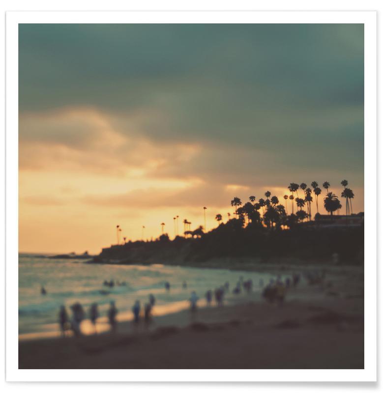 Plages, Couchers de soleil, Laguna Beach Sunset No.1 affiche