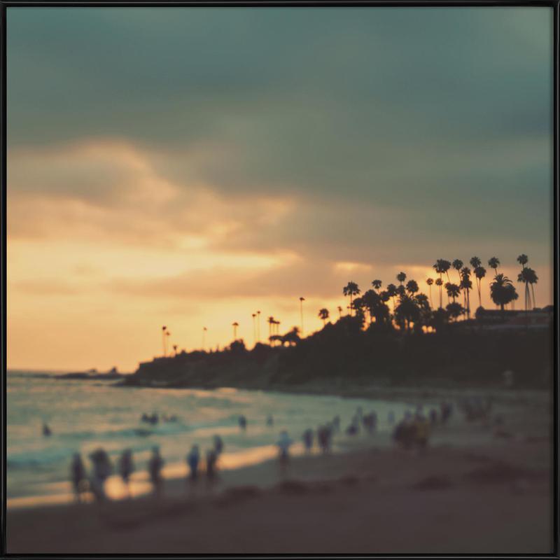 Laguna Beach Sunset No.1 ingelijste poster