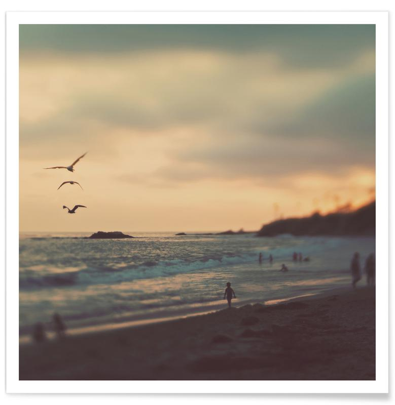 Stranden, Zonsondergangen, Laguna Beach Sunset No.2 poster