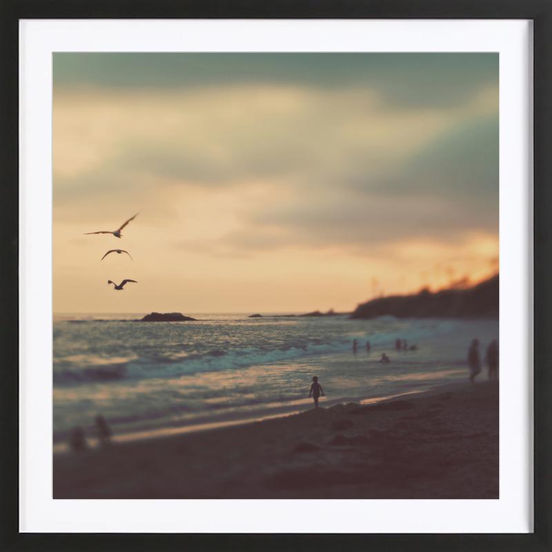 Laguna Beach Sunset No.2 ingelijste print