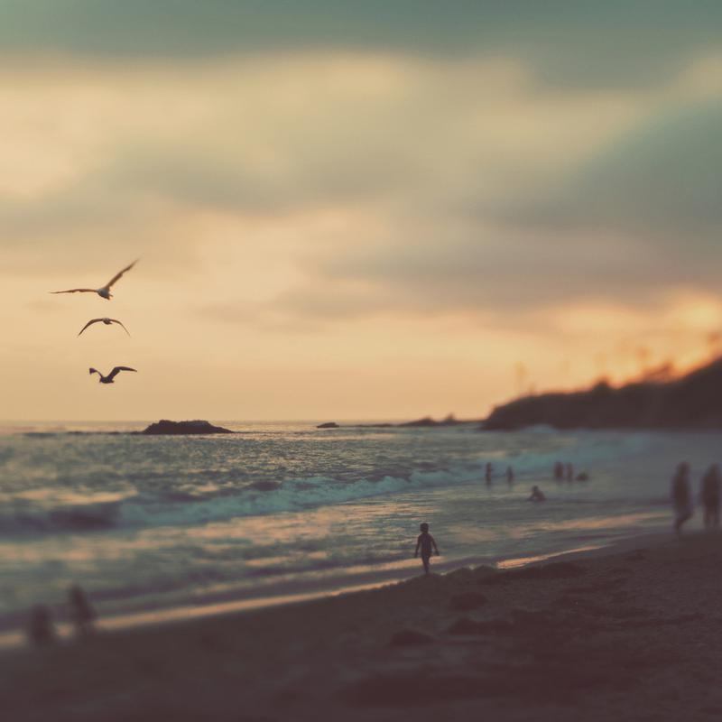 Laguna Beach Sunset No.2 Canvas Print