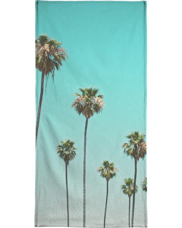 Palmiers, Las Palmeras serviette de plage