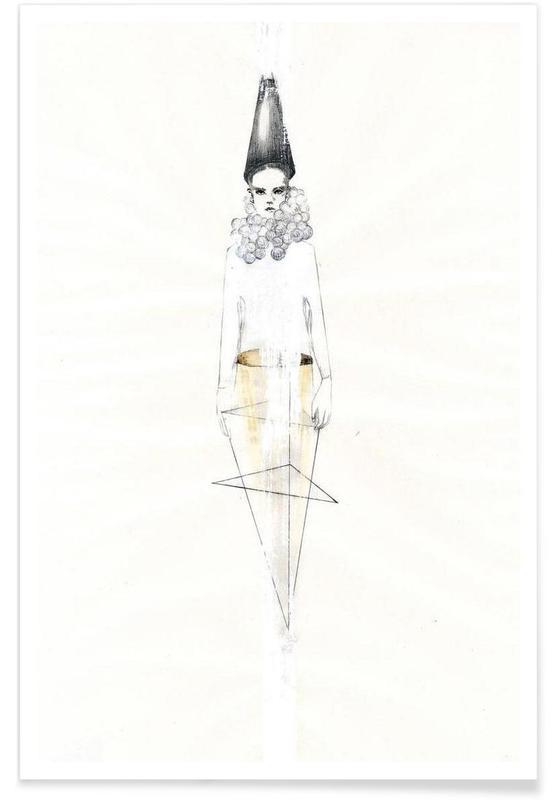 Illustrations de mode, […] V affiche