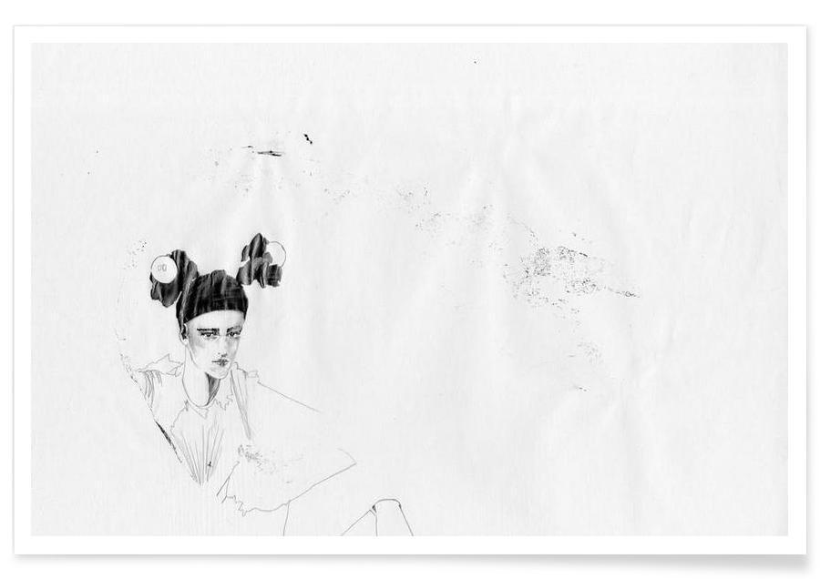 Noir & blanc, [shāp] II affiche