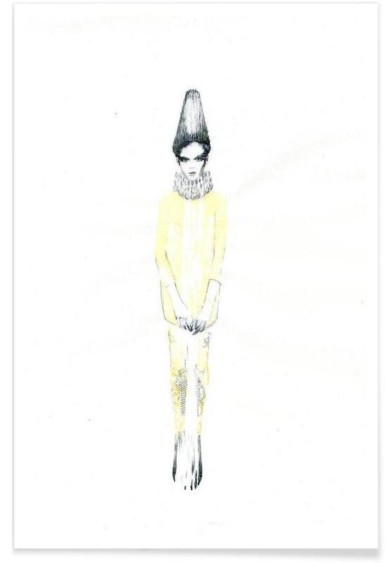 Illustrations de mode, […] VI affiche