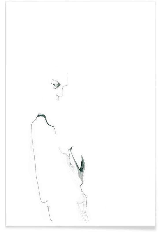 Noir & blanc, [apˈzɛnt] I affiche