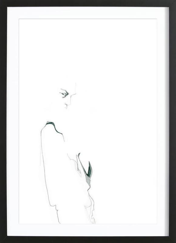 [apˈzɛnt] I Framed Print