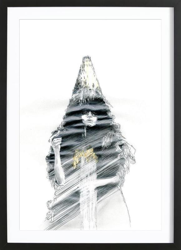 [ˈnoʊbədi] II Framed Print