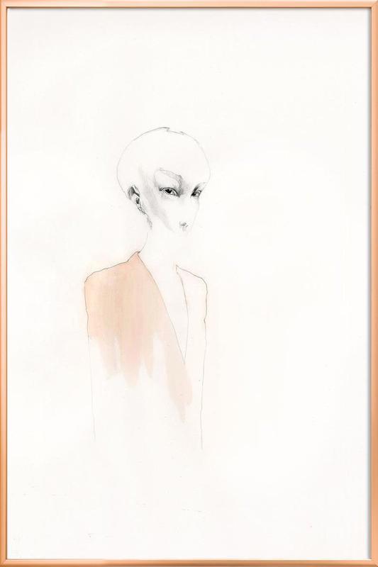 [skʊˈʀiːl] I -Poster im Alurahmen