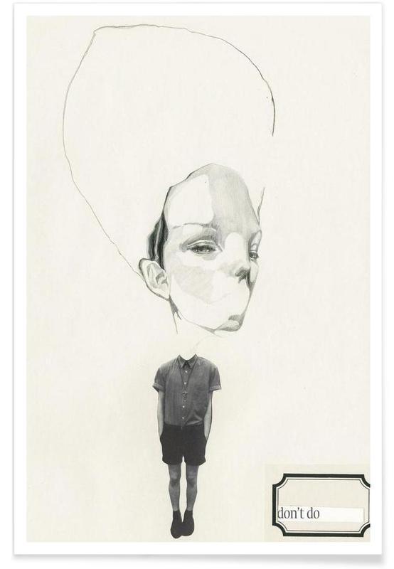 [dəʊnt] I poster
