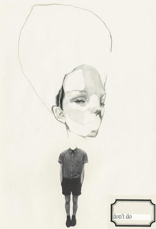 [dəʊnt] I Acrylic Print