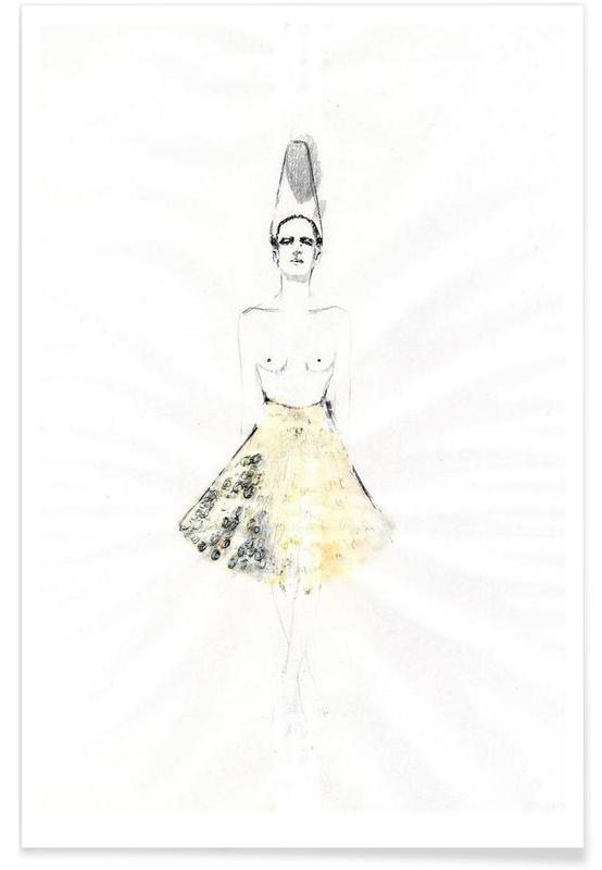 Mode-illustratie, […] I poster