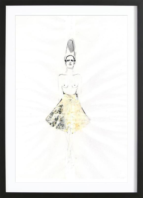 […] I Framed Print