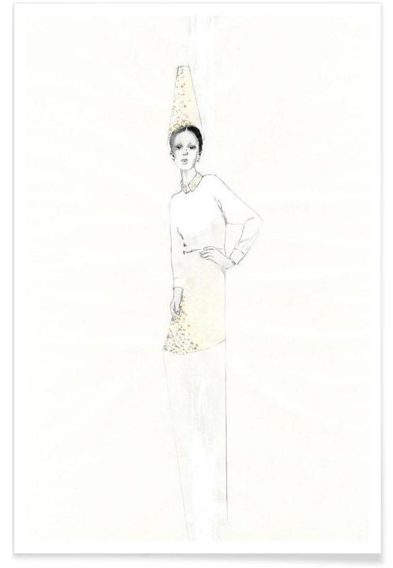 Illustrations de mode, […] II affiche