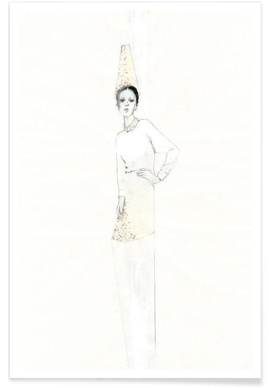 Mode-illustratie, […] II poster