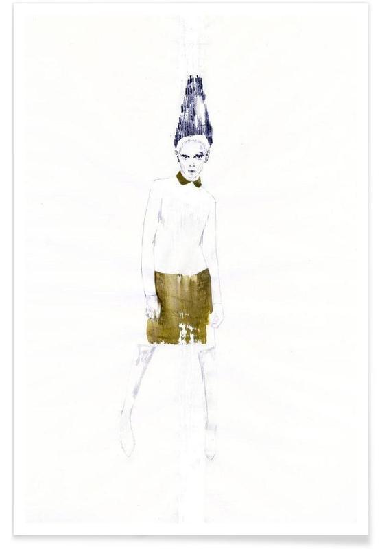 Illustrations de mode, […] III affiche