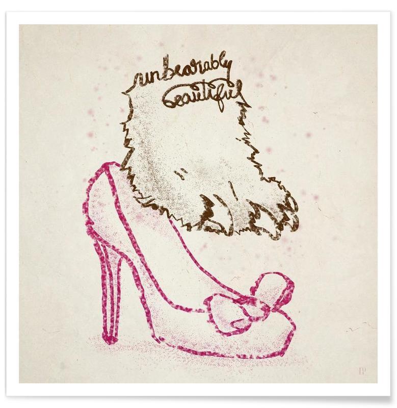 Lustig, Unbearably Beautiful -Poster