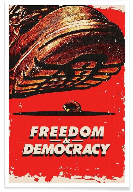 Freedom & Democracy affiche