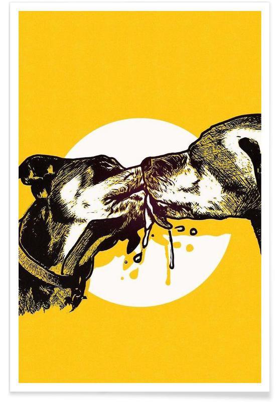 Chiens, Dog Days affiche