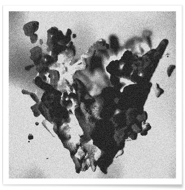 Schwarz & Weiß, Solid Smoke -Poster