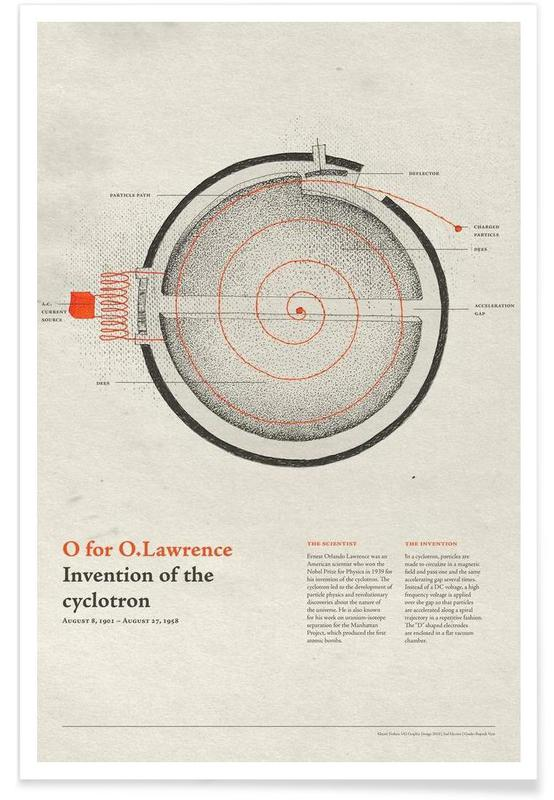 O for O.Lawrence poster