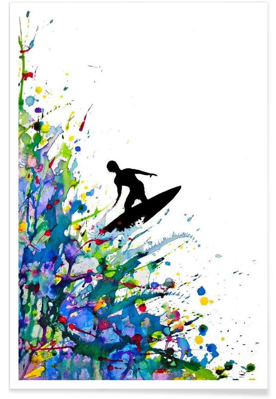 A Pollock's Point Break poster