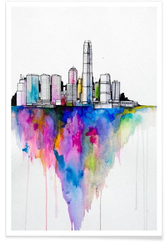 Hong Kong, Monolith II affiche