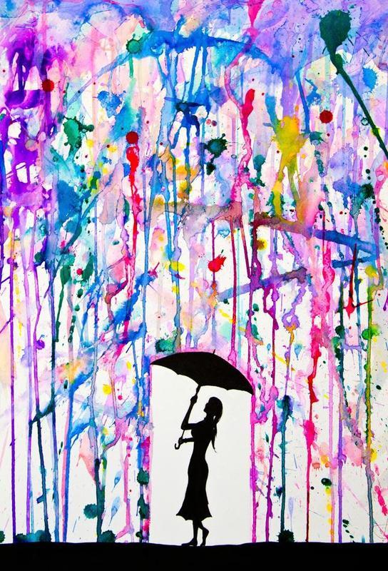 Deluge -Acrylglasbild