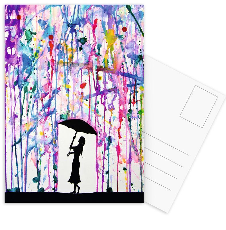 Deluge Postcard Set