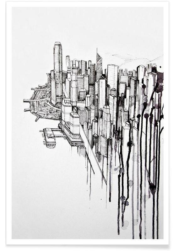 Hongkong, Reclaimed Plakat
