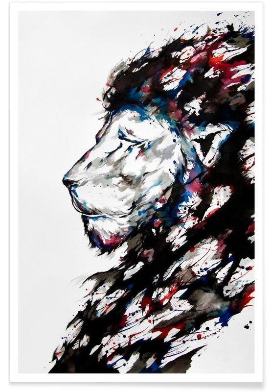 Løver, Repose Plakat