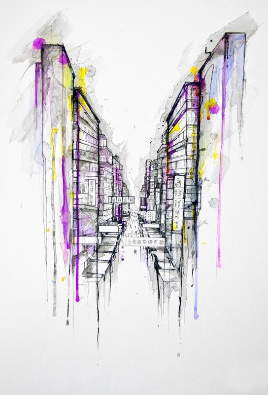 This City Sleeps -Acrylglasbild