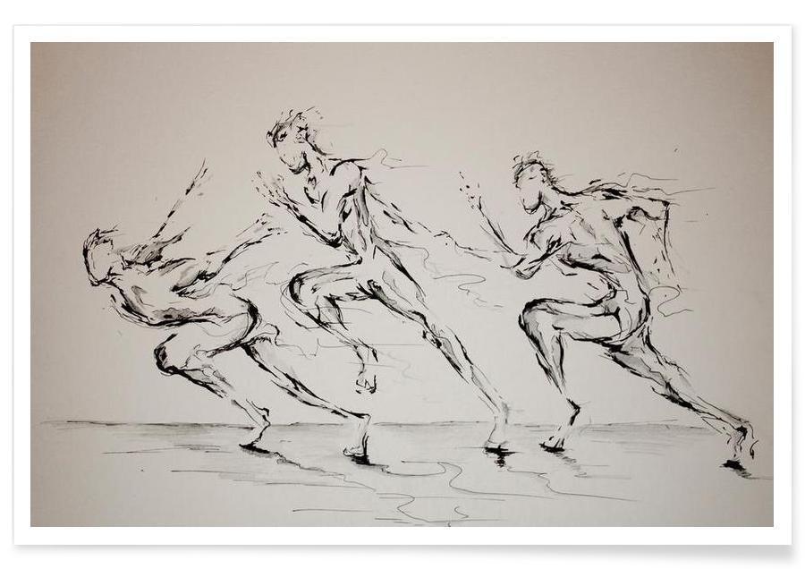Noir & blanc, Three Blind Mice affiche