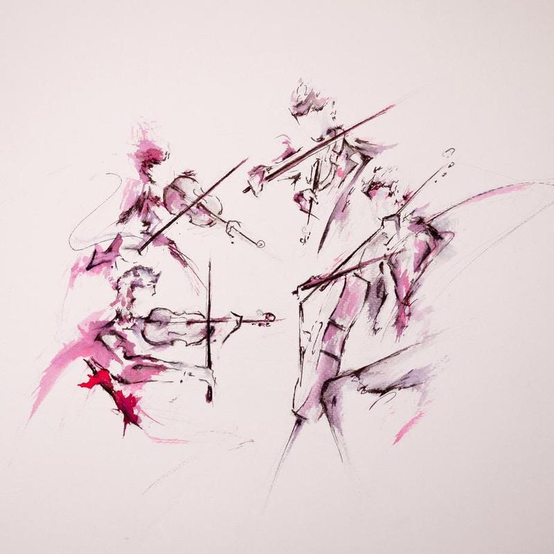 Quartet Acrylic Print