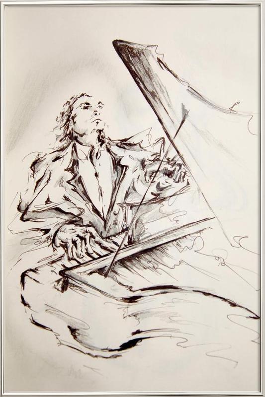 Maestro -Poster im Alurahmen