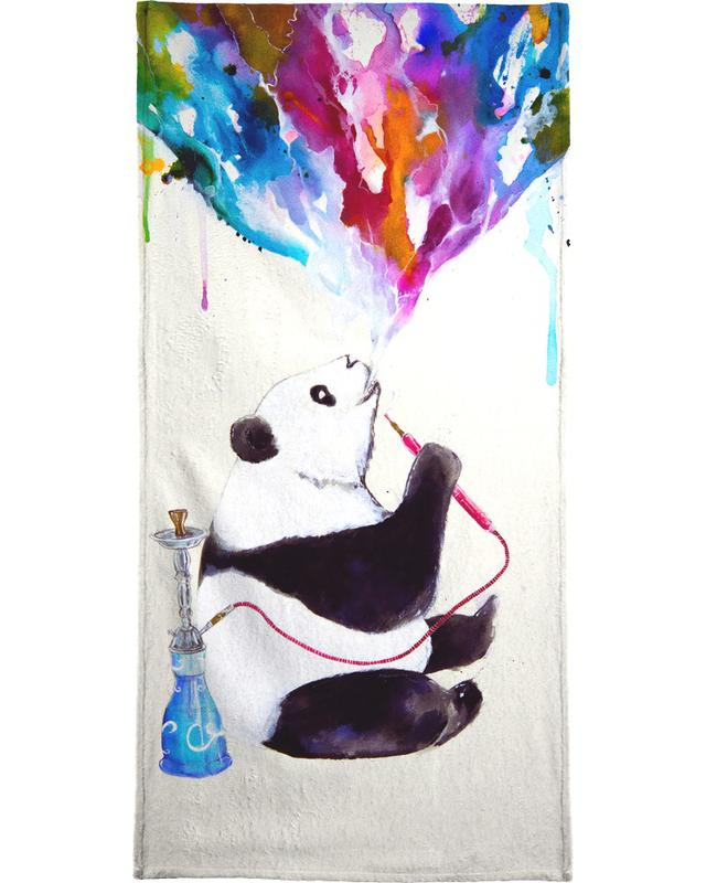 Pandas, Chai Bath Towel