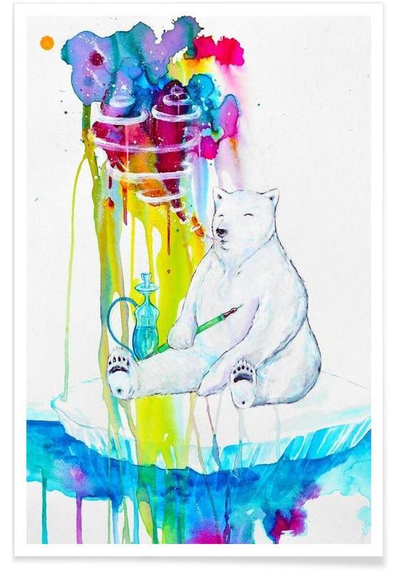 Bären, Mint -Poster