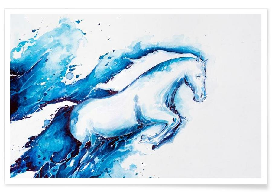 Nursery & Art for Kids, Ride The Lightning Poster
