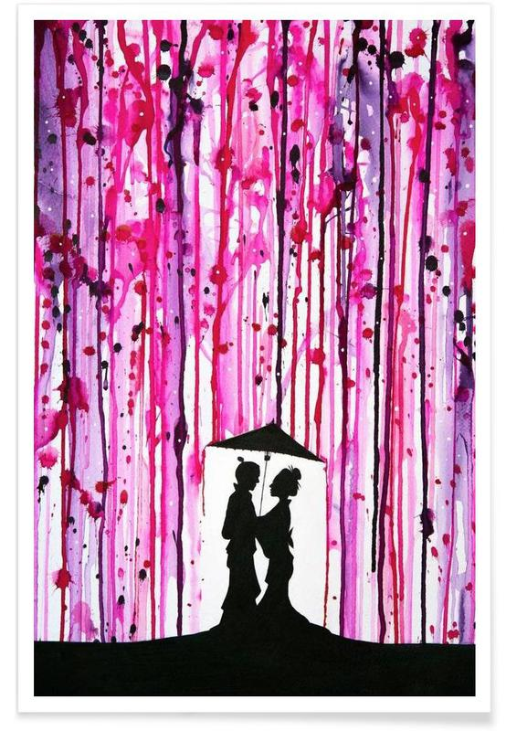 Paare, Valentinstag, Wild Blossoms -Poster