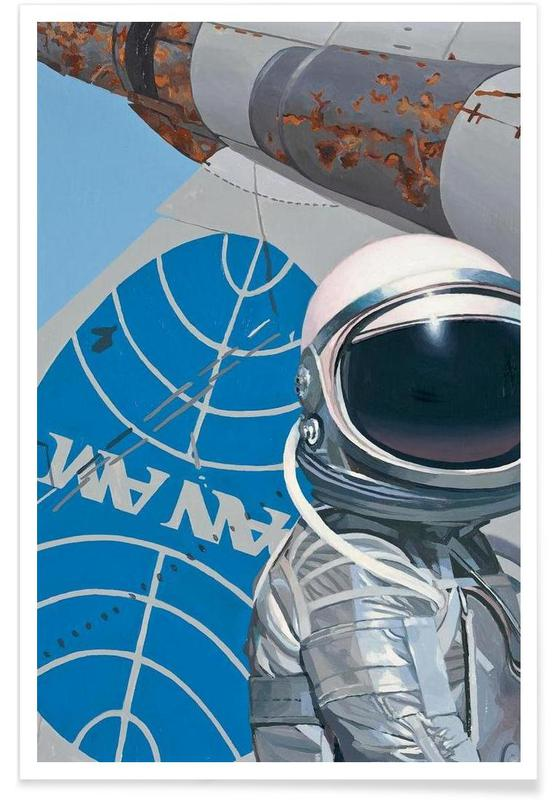 Astronautes, Pan Am affiche