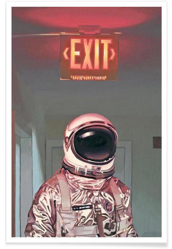 Astronautes, Exit affiche