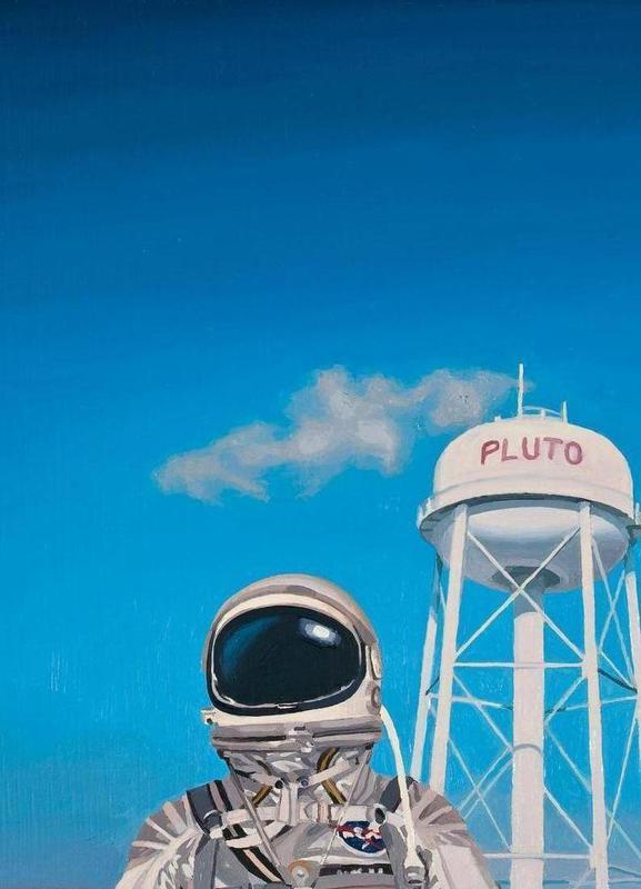 Pluto Canvas Print