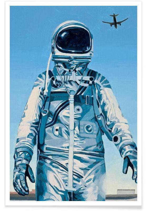 Astronautes, Under the Flight Path affiche