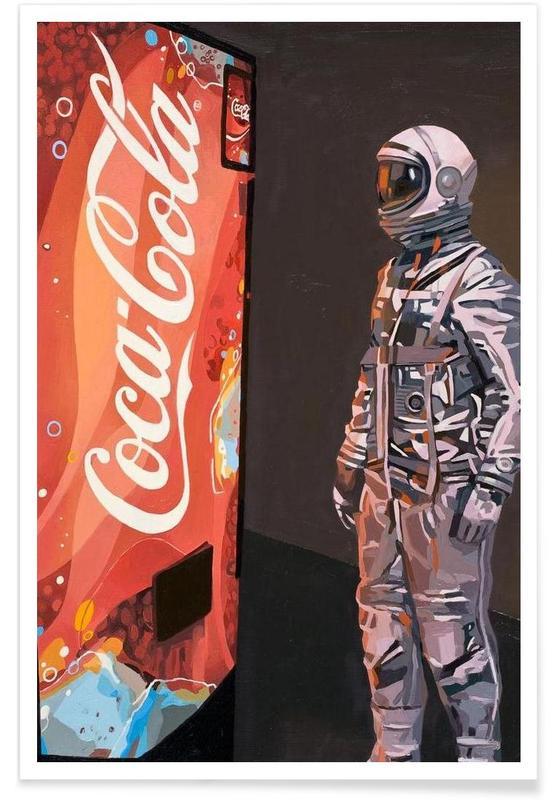Astronautes, The Coke Machine affiche