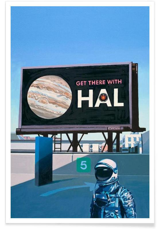 Get There With HAL affiche