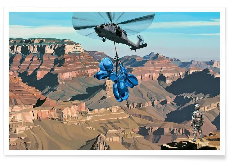Pop Art, Grand Canyon affiche