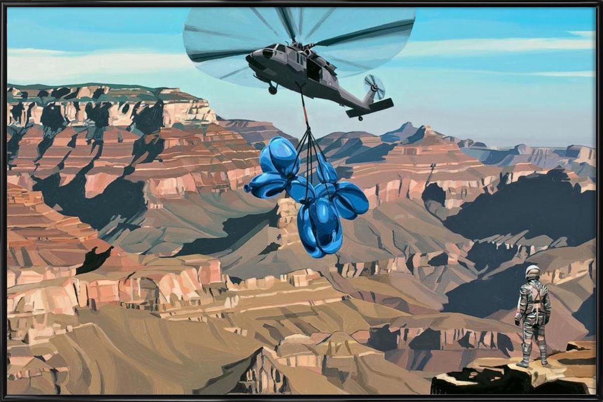 Grand Canyon -Bild mit Kunststoffrahmen