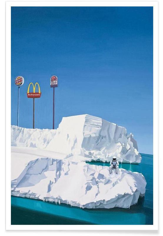 Astronautes, Burgers, The Iceberg affiche