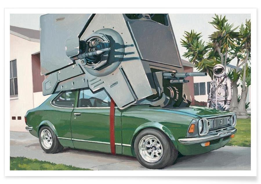Auto's, Hybride Vehicle poster
