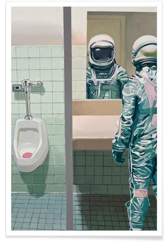 Astronautes, Men's Room affiche